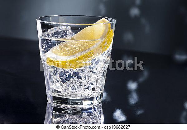 gin, tonikum, tom, oder, collins - csp13682627