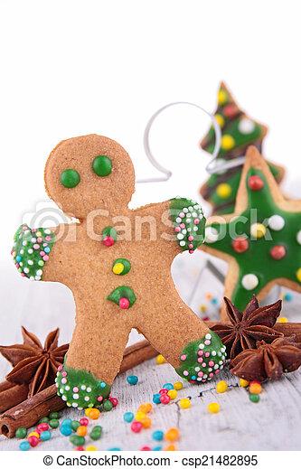 ginger biscuit - csp21482895