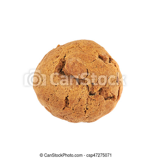 Ginger cookie isolated - csp47275071