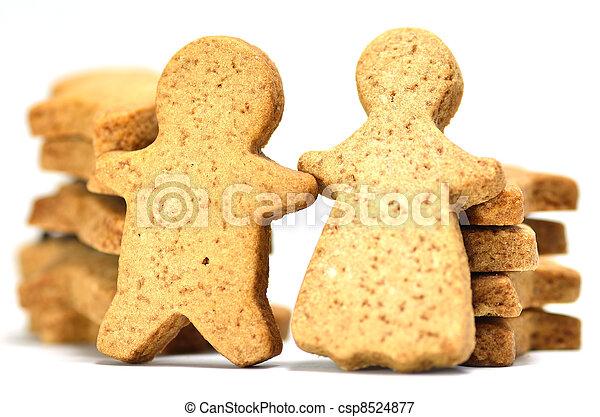 Ginger Cookie. - csp8524877