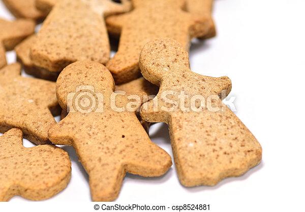 Ginger Cookie. - csp8524881