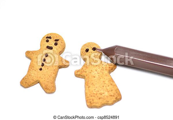 Ginger Cookie. - csp8524891