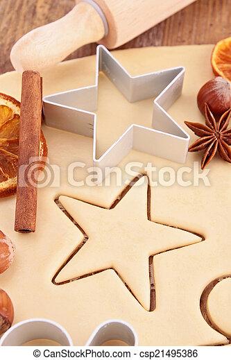 ginger cookie - csp21495386