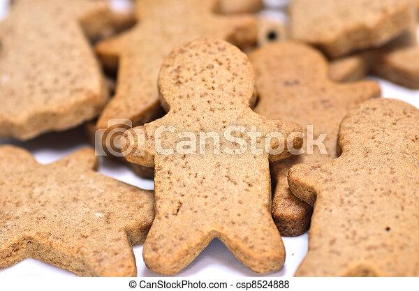 Ginger Cookie. - csp8524888
