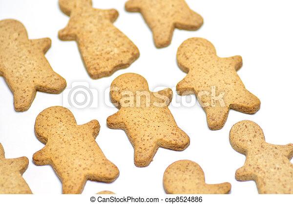 Ginger Cookie. - csp8524886