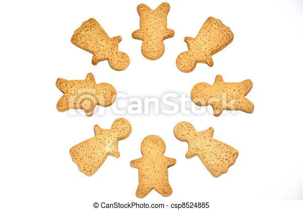 Ginger Cookie. - csp8524885