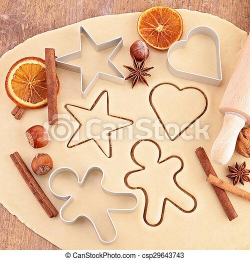 ginger cookie - csp29643743