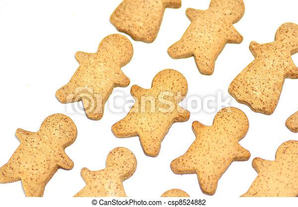 Ginger Cookie. - csp8524882