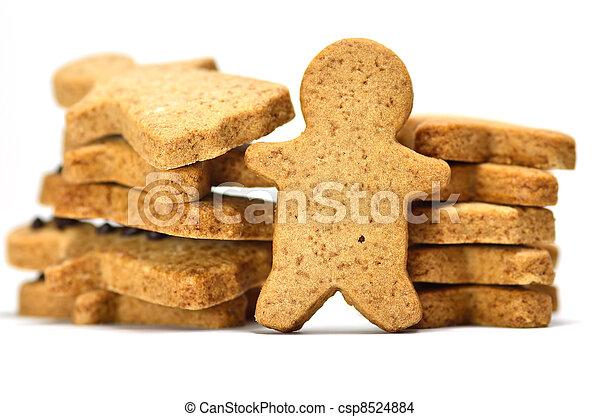 Ginger Cookie. - csp8524884