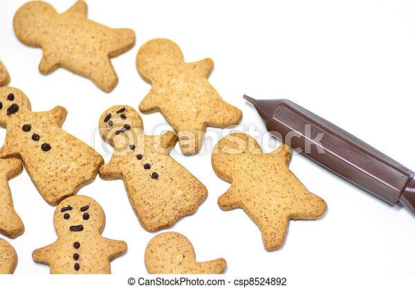 Ginger Cookie. - csp8524892