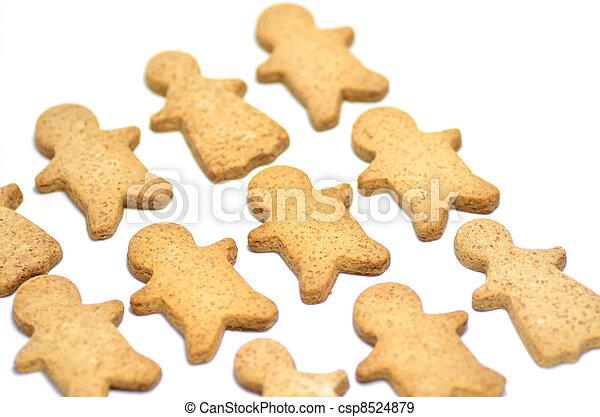 Ginger Cookie. - csp8524879