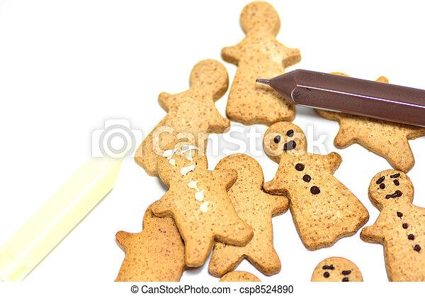 Ginger Cookie. - csp8524890