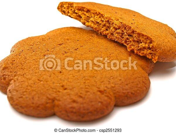 Ginger cookie - csp2551293