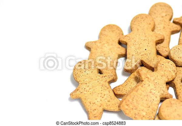 Ginger Cookie. - csp8524883