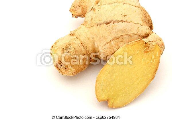 Ginger on White Background - csp62754984