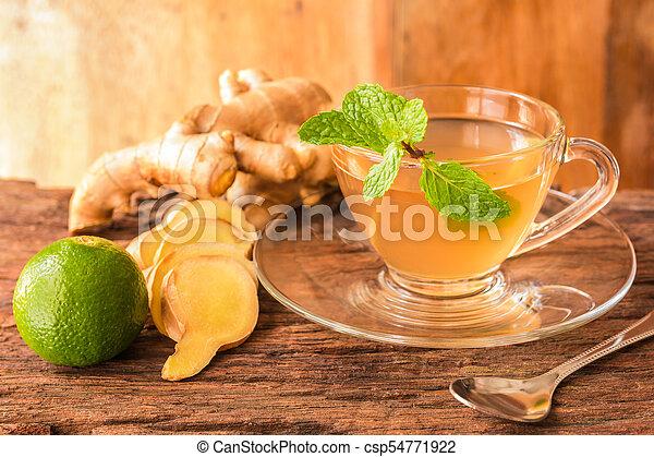 Ginger tea - csp54771922