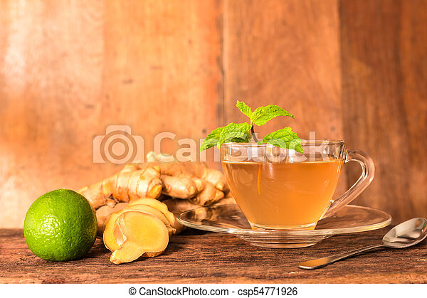 Ginger tea - csp54771926