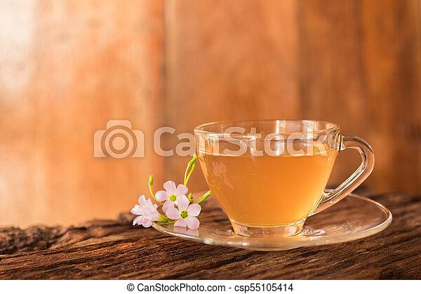 Ginger teacup - csp55105414