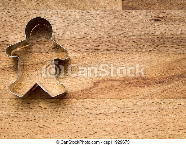 Gingerbread cookie cutter - csp11929673