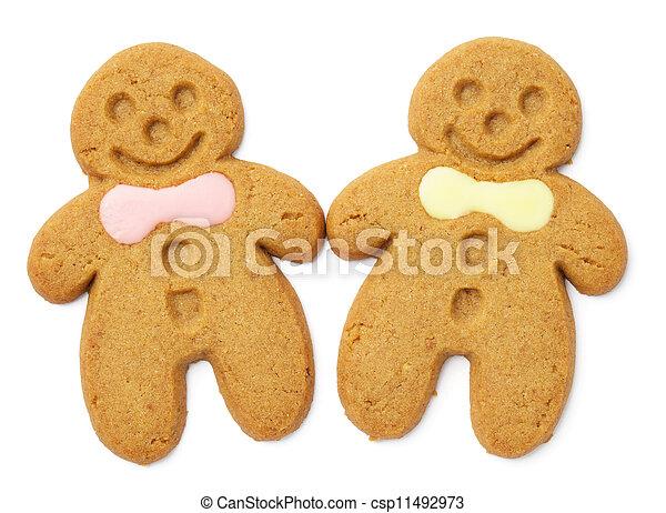 Gingerbread cookie - csp11492973
