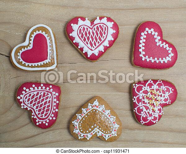 Gingerbread cookie - csp11931471