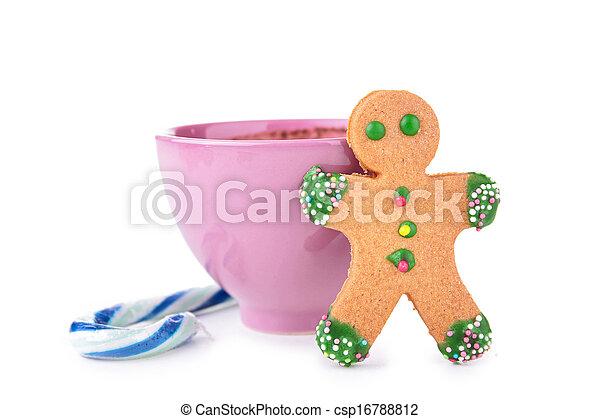 gingerbread cookie - csp16788812