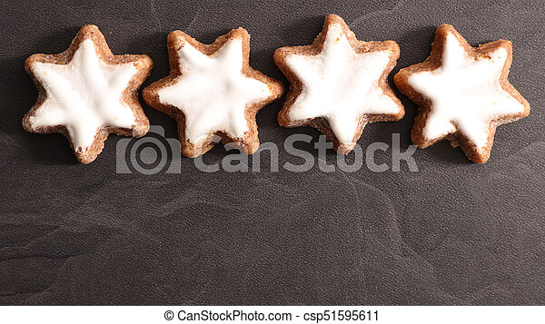 gingerbread cookie - csp51595611