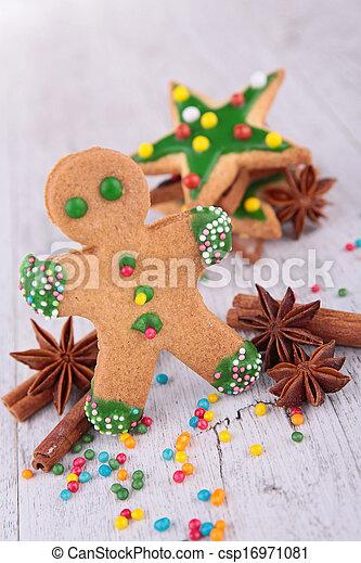 gingerbread cookie - csp16971081