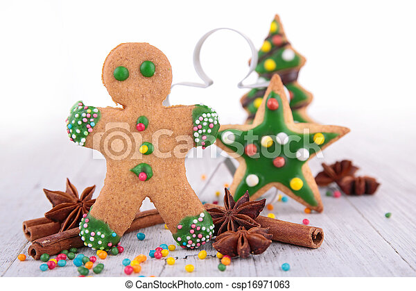 gingerbread cookie - csp16971063