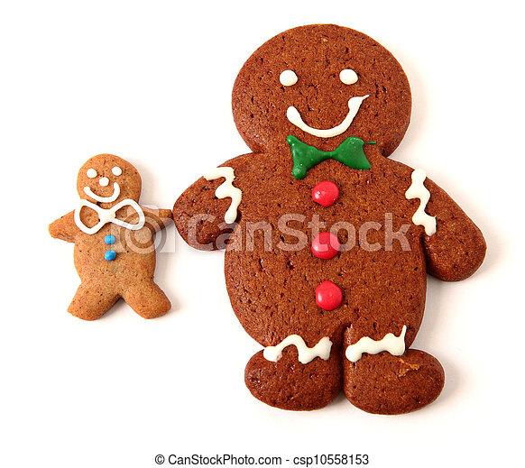 Gingerbread cookie - csp10558153