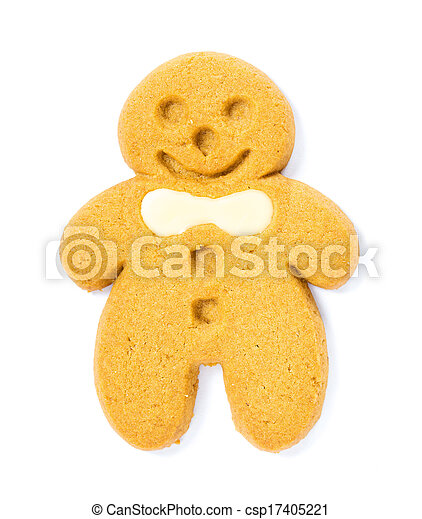 Gingerbread cookie - csp17405221