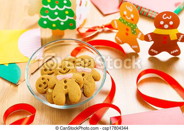 Gingerbread cookie - csp17804344