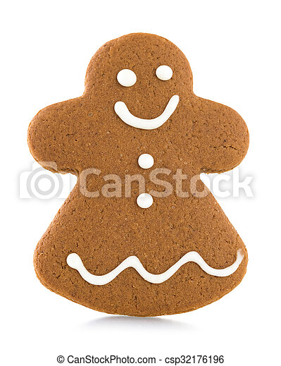 Gingerbread cookie - csp32176196
