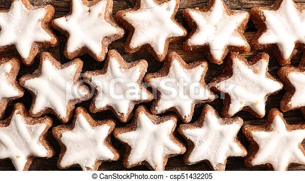 gingerbread cookie - csp51432205