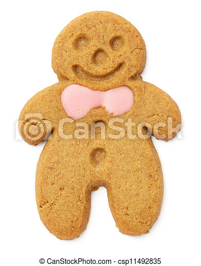 Gingerbread cookie - csp11492835