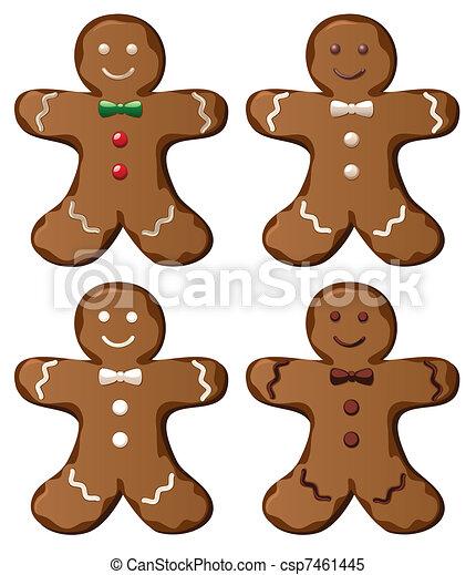 gingerbread cookies - csp7461445