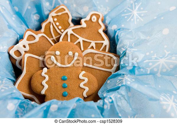 Gingerbread cookies - csp1528309