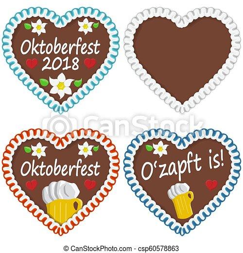 Gingerbread Hearts Oktoberfest 2018