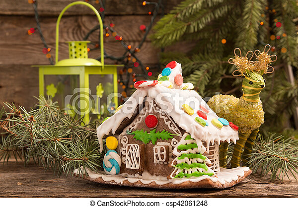 Gingerbread House European Christmas Holiday Traditions