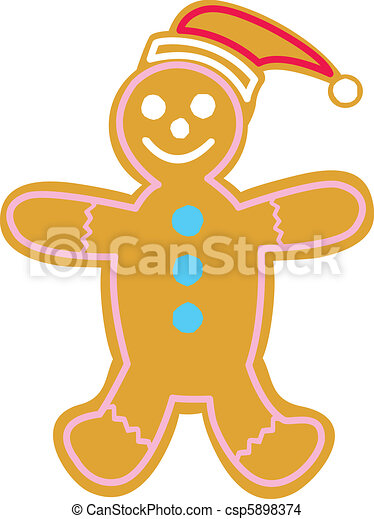 ginger man cookie illustrations and clipart 22 new images added for rh canstockphoto com