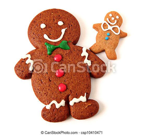Gingerbread Man - csp10410471