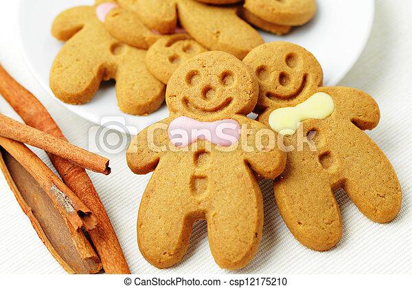 Gingerbread Man - csp12175210
