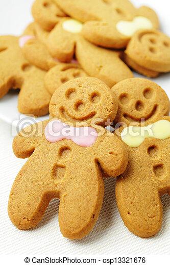 Gingerbread Man - csp13321676