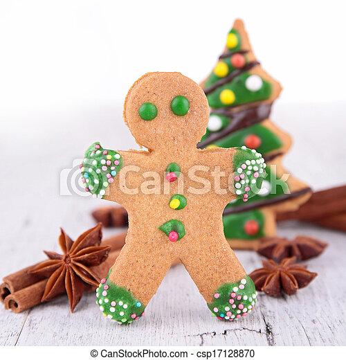 gingerbread man - csp17128870