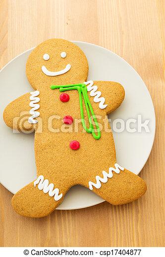 Gingerbread man - csp17404877