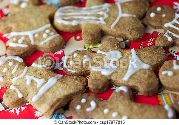 Gingerbread Man - csp17977815