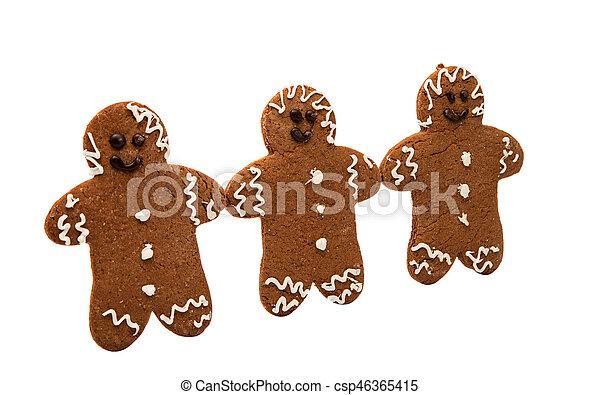 gingerbread man - csp46365415