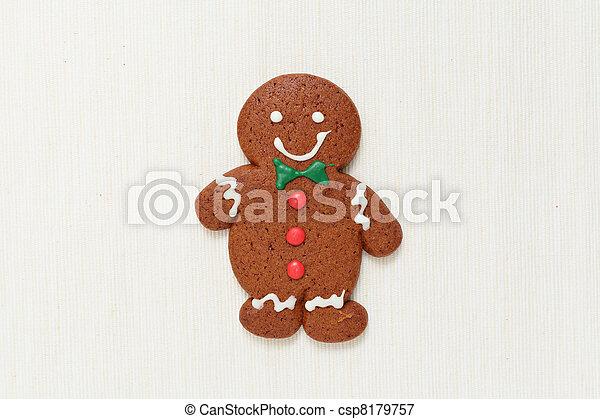 Gingerbread Man - csp8179757