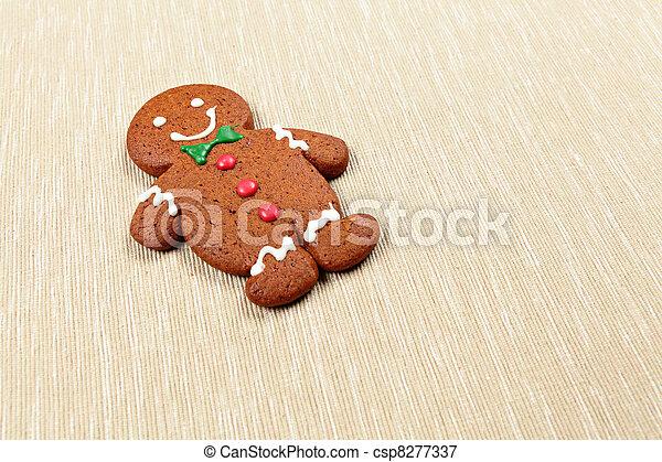 Gingerbread Man - csp8277337