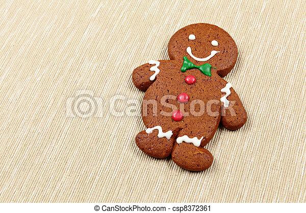 Gingerbread Man - csp8372361